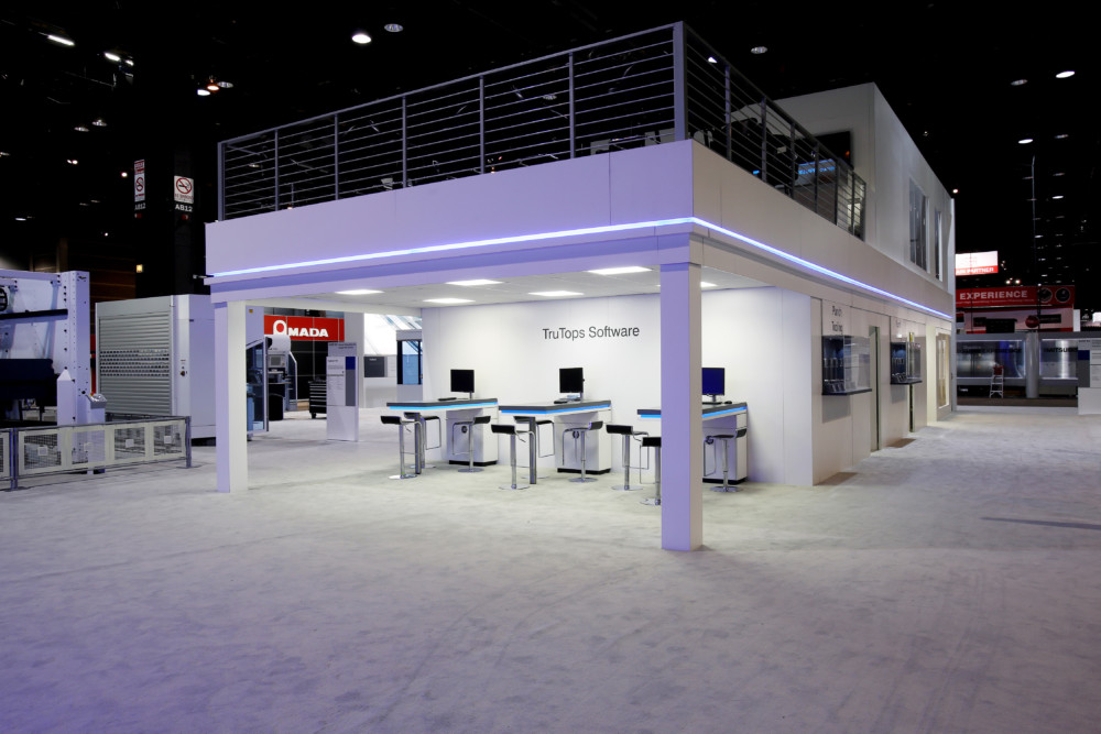 trumpf booth
