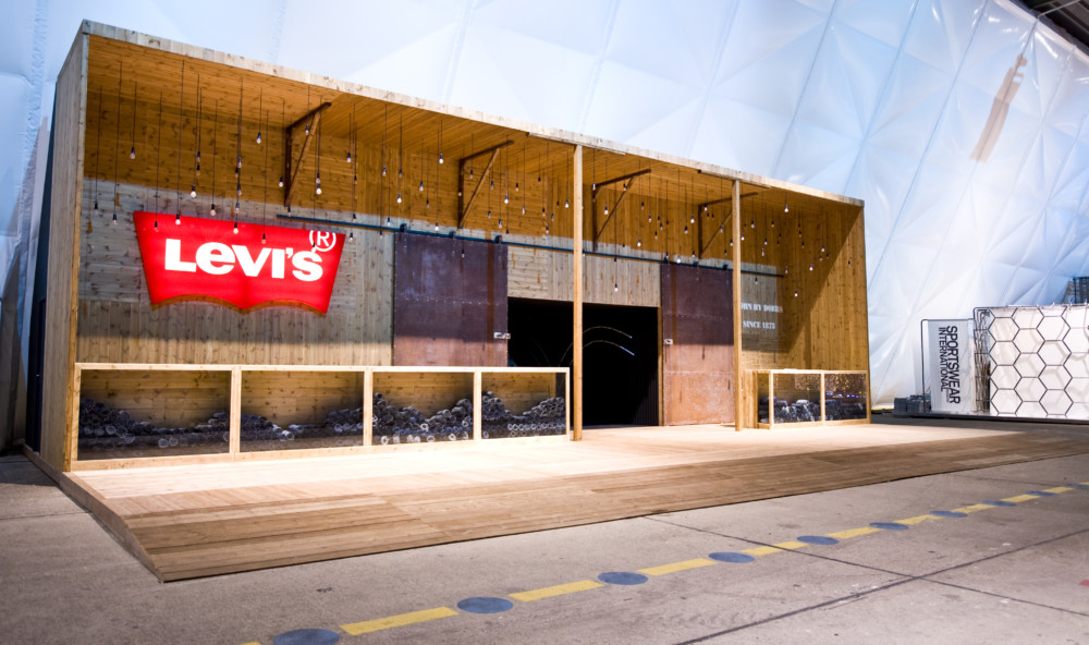 Levi's bread & butter stand