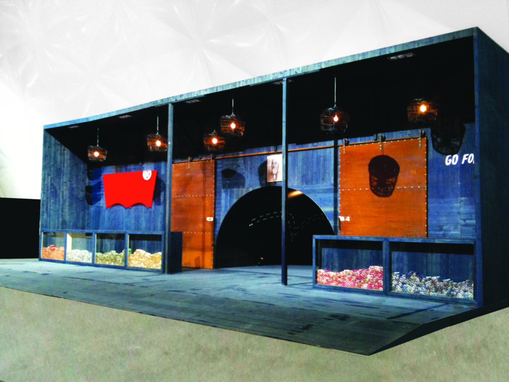 Levi's exhibition stand