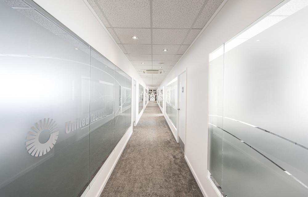 UTC chalet hallway