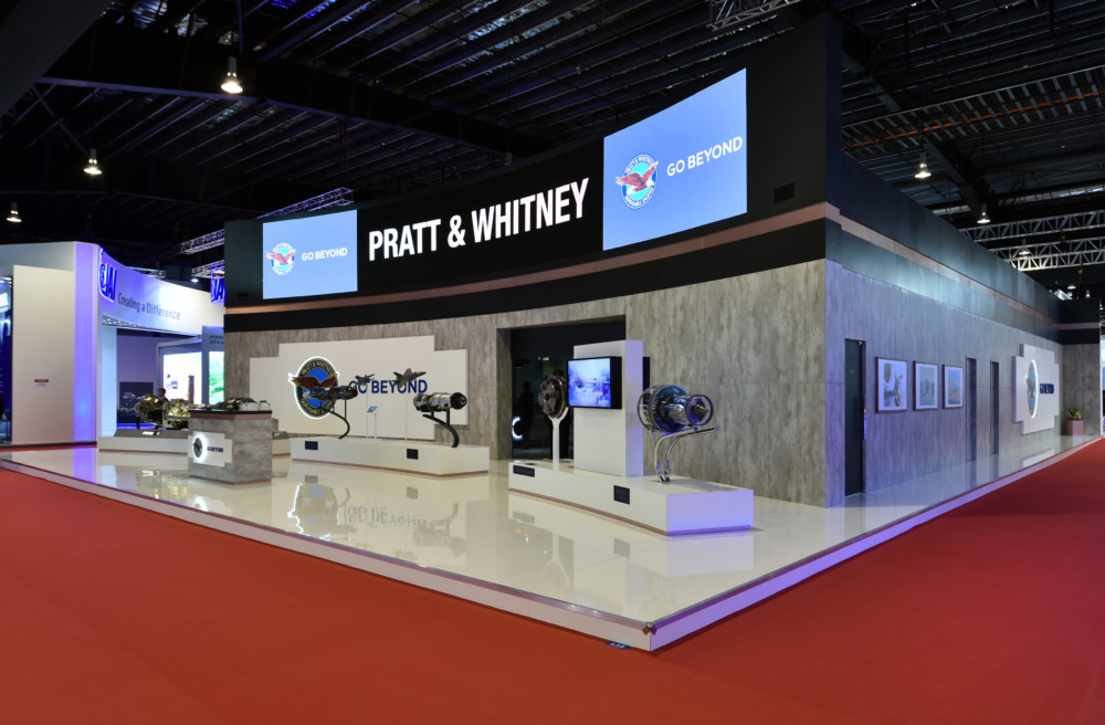Pratt & Whitney stand Singapore