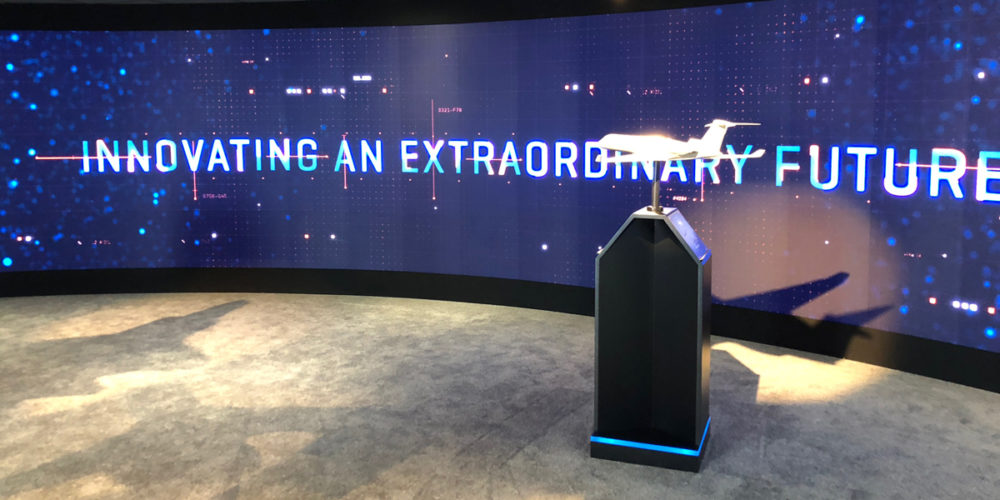 LED walls innovation in exhibition stands