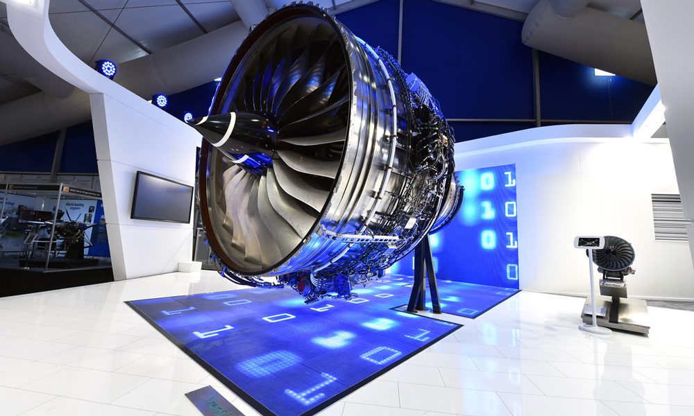 Rolls-Royce exhibition stand LED walls innovation