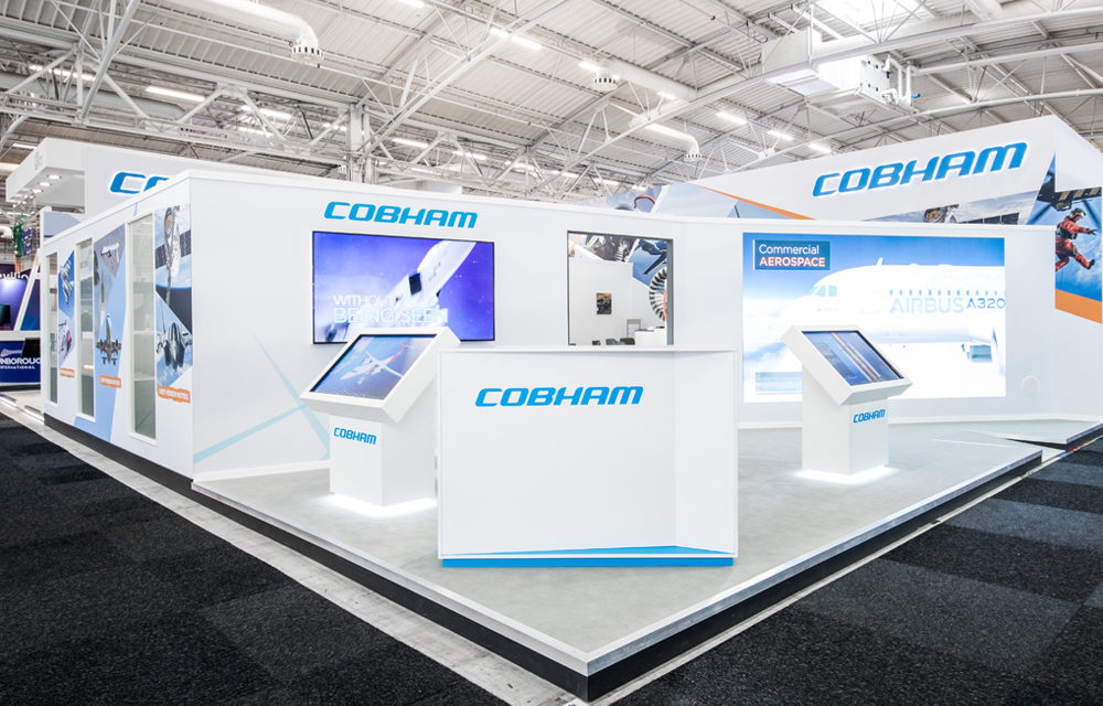 Cobham exhibition stand paris air show