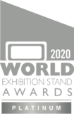 2020 World Exhibition Stand Awards Platinum