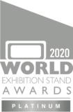2020 World Exhibition Stand Awards Platinum